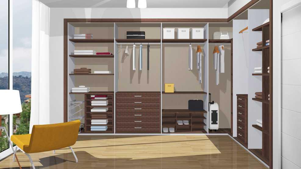 Distribucion interior armario - Distribuir armario empotrado ...
